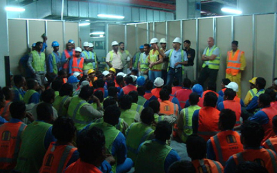 MENASCO on Safety Training  /  10-Jul-2011