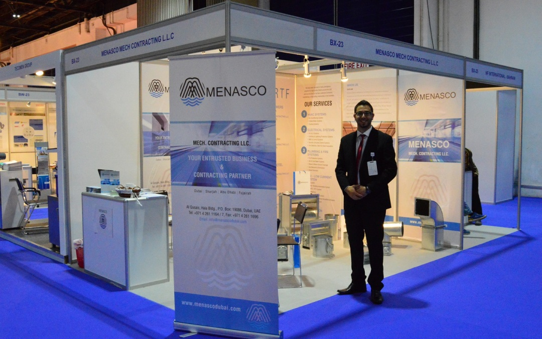 Menasco Joining WETEX Exhibition 2015