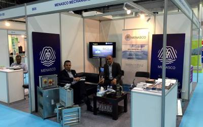 Menasco Exhibits at WETEX 2016 (Water, Energy, Technology and Environment Exhibition)